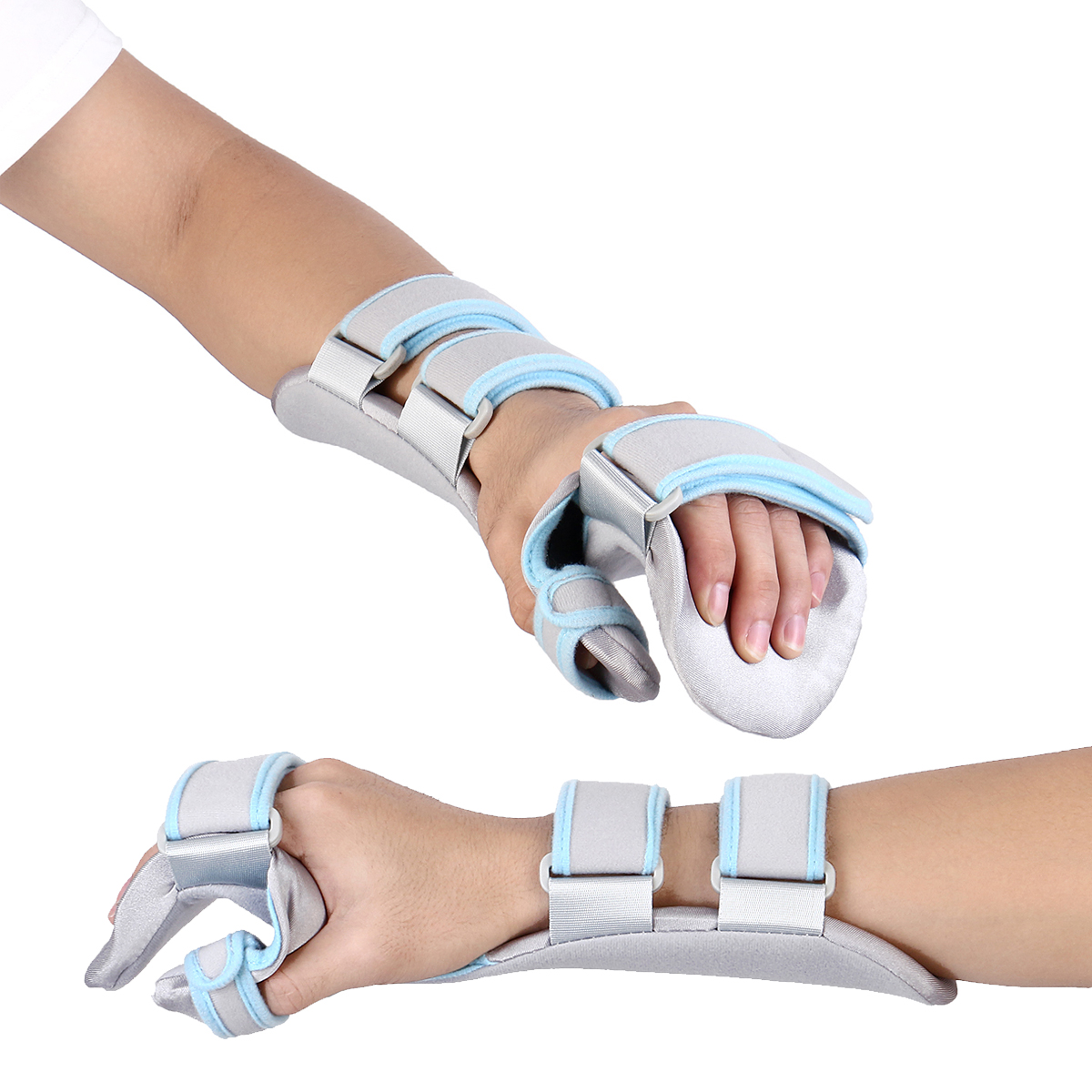 Adjustable Wrist Fracture Fixation Board Braces Hand Wrist Support Splint Ligament Injury Arm Protection Strap Breathable Braces