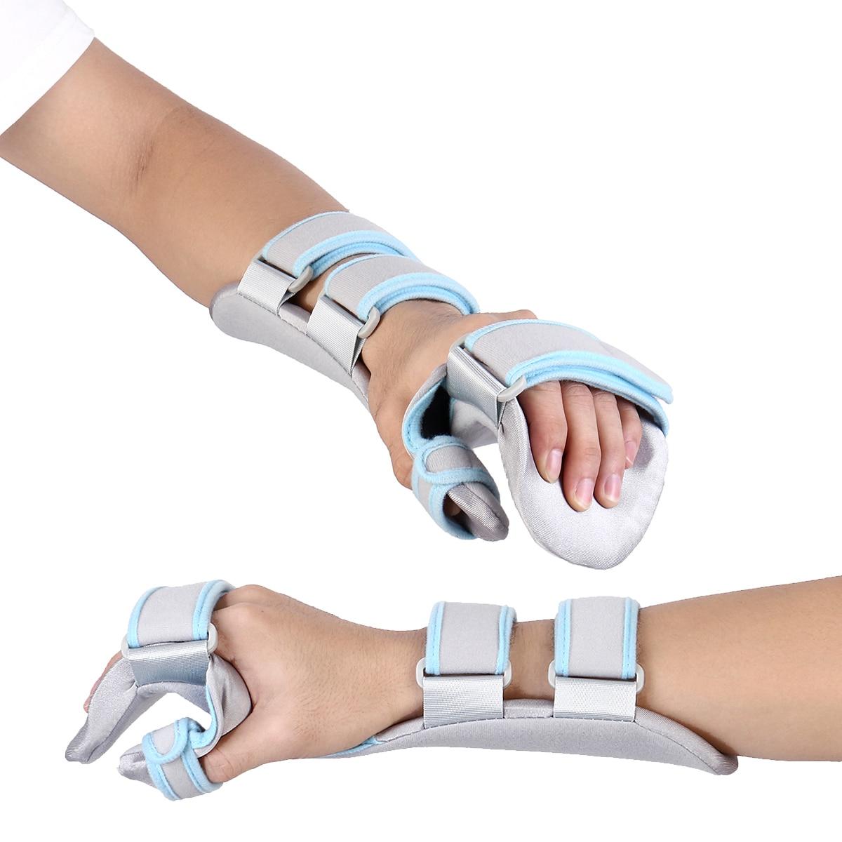 купить Adjustable Wrist Fracture Fixation Board Braces Hand Wrist Support Splint Ligament Injury Arm Protection Strap Breathable Braces по цене 1134.2 рублей