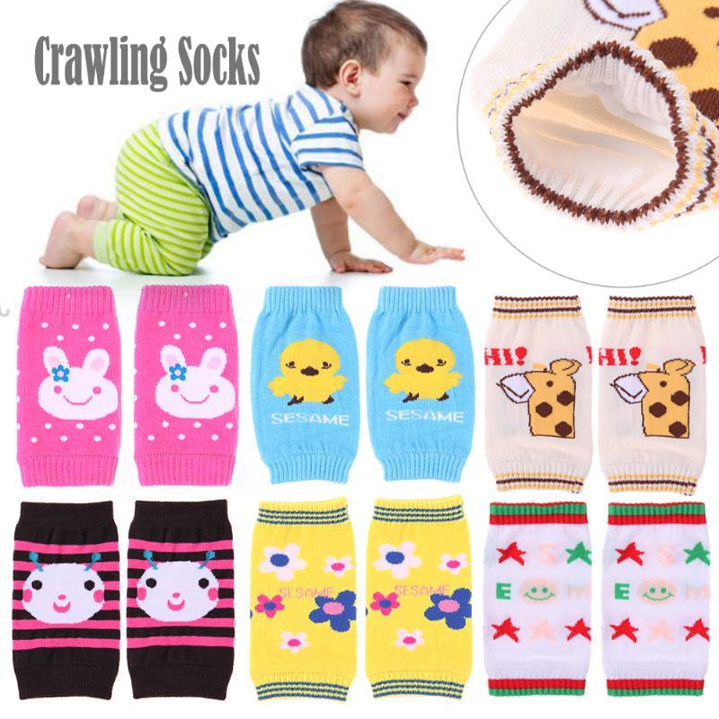 1 Para Baby Knieschützer Kinder Kinder Sicherheit Krabbeln Elbow Kissen Kleinkinder Knieschützer Beinlinge Baby Kniescheibe