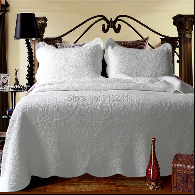 Image result for white embroidered white bed cover