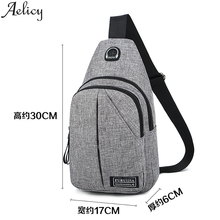 Aelicy 2019 Fashion Oxford Cloth Chest  Wild Small Bag Shoulder Strap Crossbody Shoulder Bags Clutch Bag Tote Shop Bag Handbag