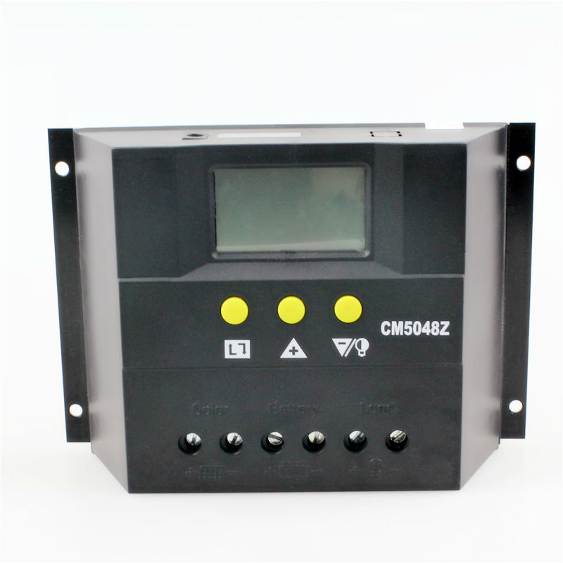 CM4048Z New Type PWM 40A 48V DC input LCD display Solar Charge Controller kbs48101x 40a 24 48v mini brushless dc controller