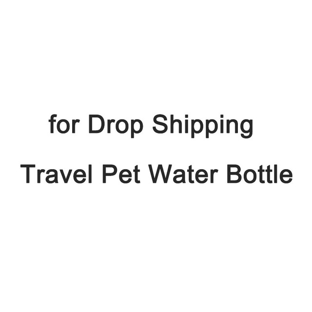 Aliexpress com : Buy Drop shipping 500ml Travel Pet Dog Water Bottle Blue  Red ( Spot Stock, Fast Order processing ) from Reliable Dog Feeding