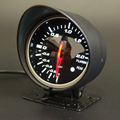 60mm Boost Bar Gauge Black Auto Gauge White&Red Led Boost Meter with original Box and Logo