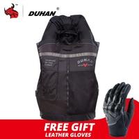 DUHAN Motorcycle Jacket Air bag Vest Motorcycle Vest Air Bag System Protective Gear Reflective Motorbike Airbag Men Moto Vest