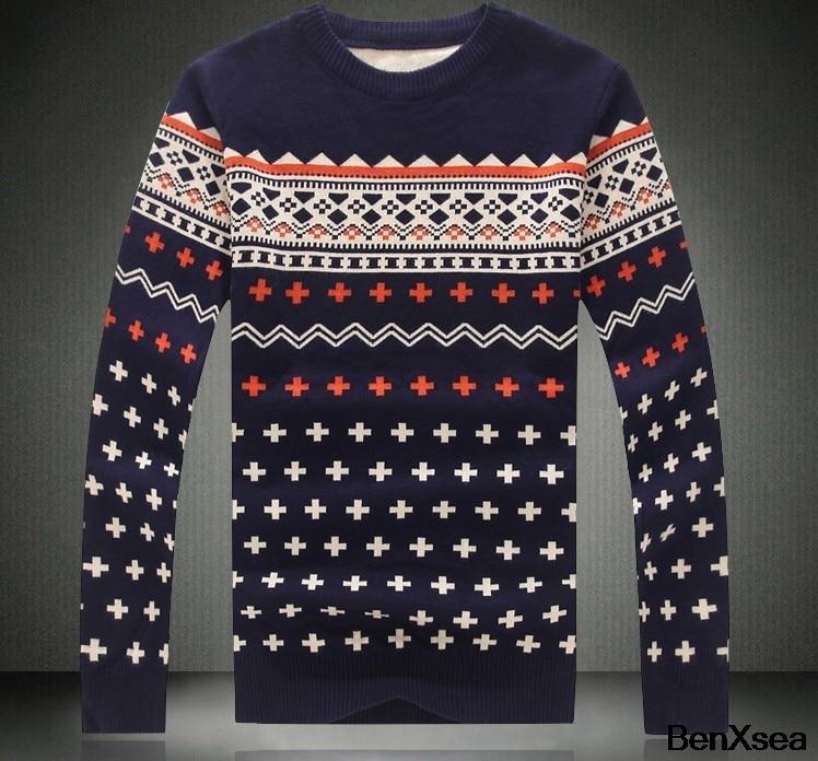 2018 Korean Style Men Pullover Hip Hop Fashion Luxury Brand Sweater Designer Sweater Men