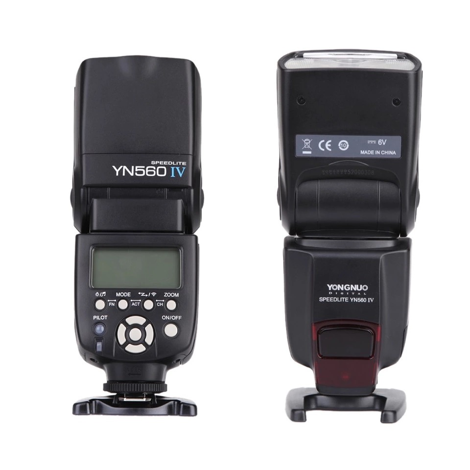 YONGNUO YN560 IV 2.4G Wireless Flash Speedlite for Canon 6D 7D 60D 70D 5D2 5D3 700D 650D,YN-560IV for Nikon D750 D800 D610 D90