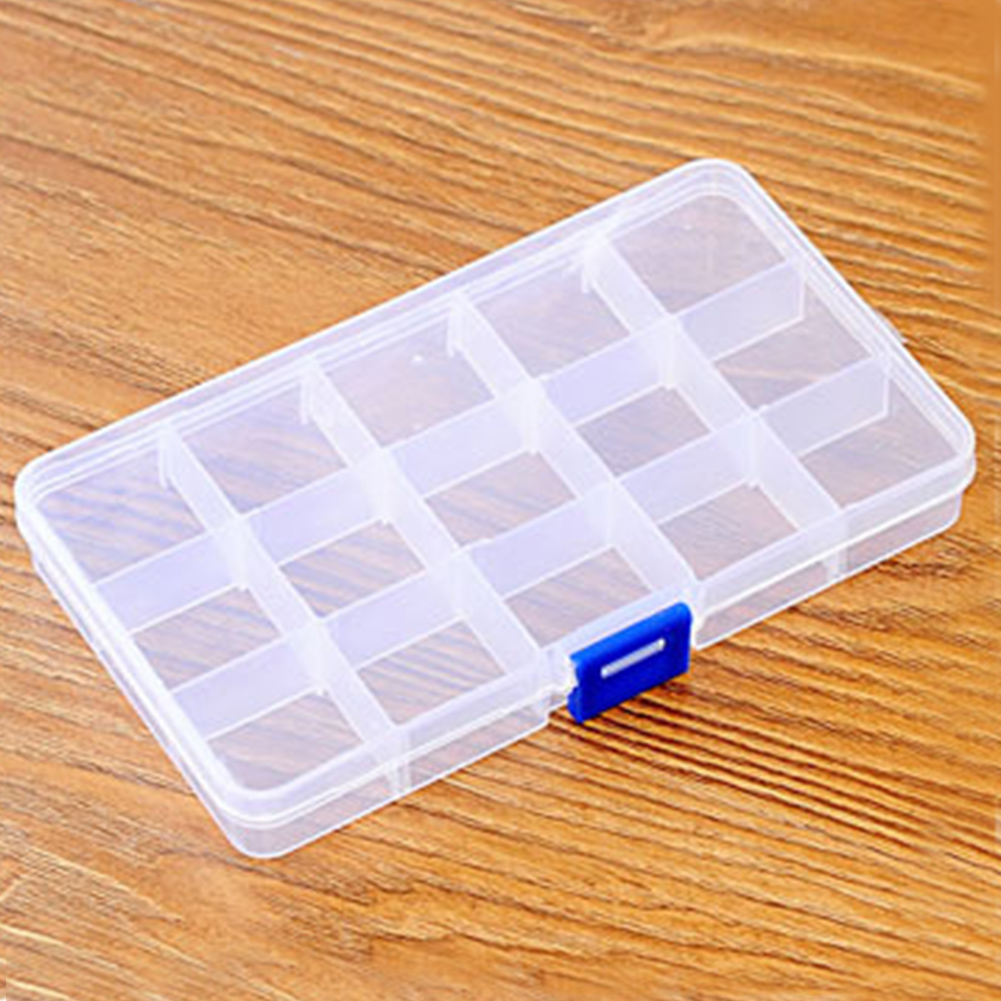 Home Accessories Jewellery Organizer Container For Women Holder Fashion Transparent Case Durable Decorations Storage Box Plastic