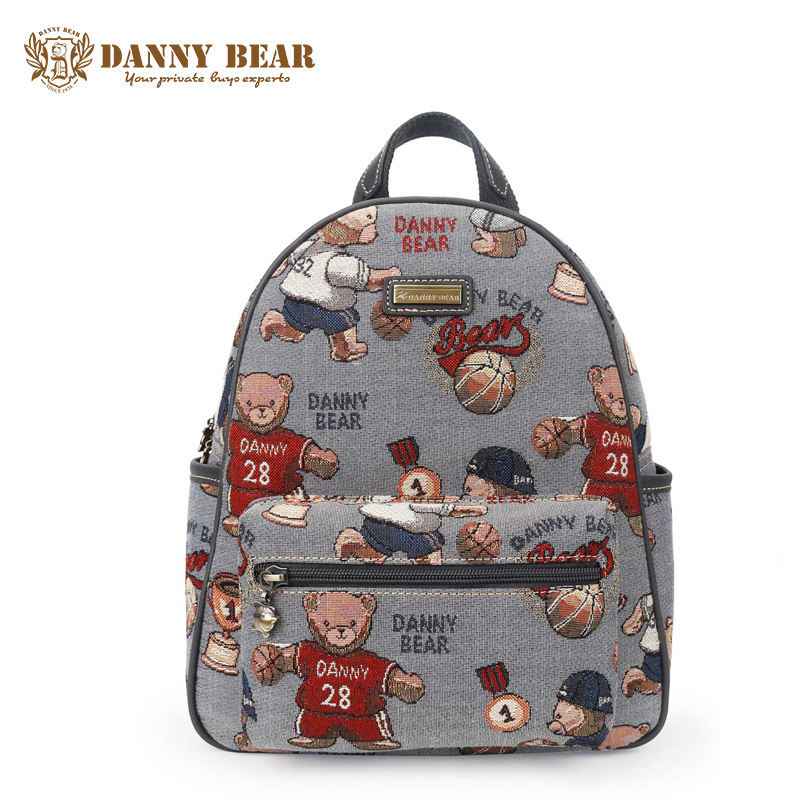 DANNY BEAR Women Causal Large Travel Backpack Cheap Korean School Backpacks For Teenage Girls Boys Fashion Gray Back Pack Bags gess tap pro
