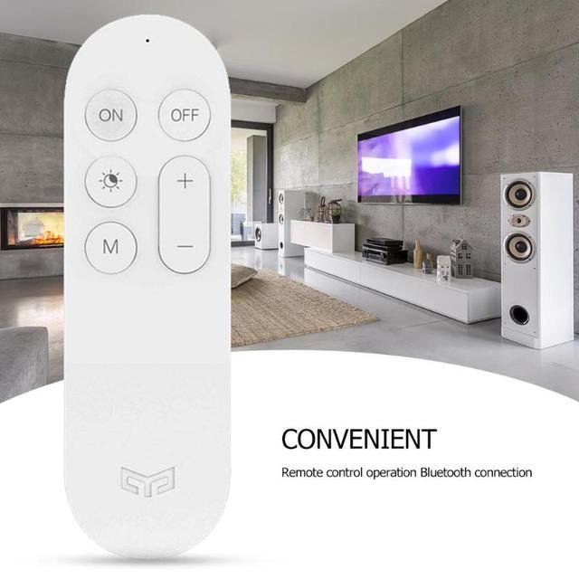 XIAOMI YEELIGHT Bluetooth Điều Khiển từ xa Thông Minh LED Ốp Trần Hộ Gia Đình Thông Minh Điều Khiển từ xa Thông Minh Xiaomi Home