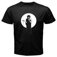New Sandman Truyện Tranh Hoạt Hình Người Đàn Ông của Đen T-Shirt Size S M L XL 2XL Bình Thường Men 'S Vui Harajuku T Áo Sơ Mi Hot Giá Rẻ Men 'S