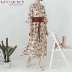 Традиционное японское кимоно Цветочное платье женское традиционное японское кимоно юката haori obi Женская японская одежда DD932