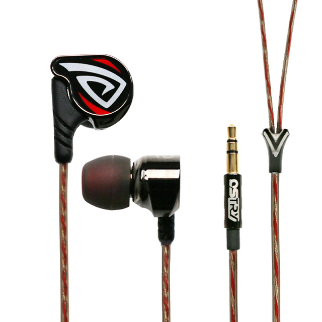 OSTRY KC06A Dynamic HIFI In-Ear Earphone Process of Vacuum Coating