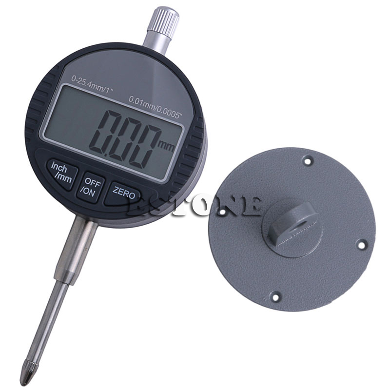 0.01mm/0.0005 Range 0-25.4mm/1 Gauge Digital Dial indicator Precision Tool 0 001mm 00005 digital indicator range 0 25 4mm 1 gauge
