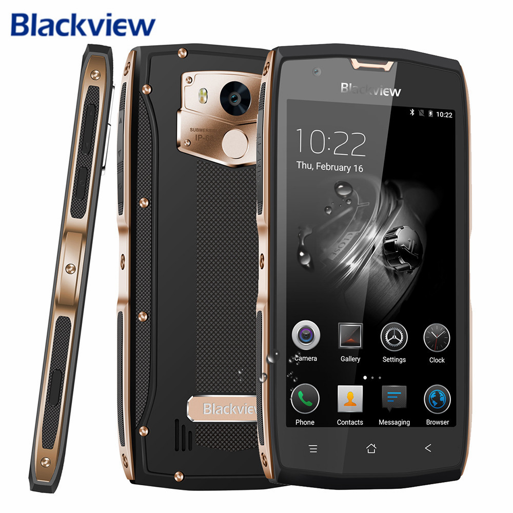 Blackview BV7000 Pro Smartphone 5 0 4G Shockproof Mobile Phone Waterproof Android 6 0 MTK6750T Octa