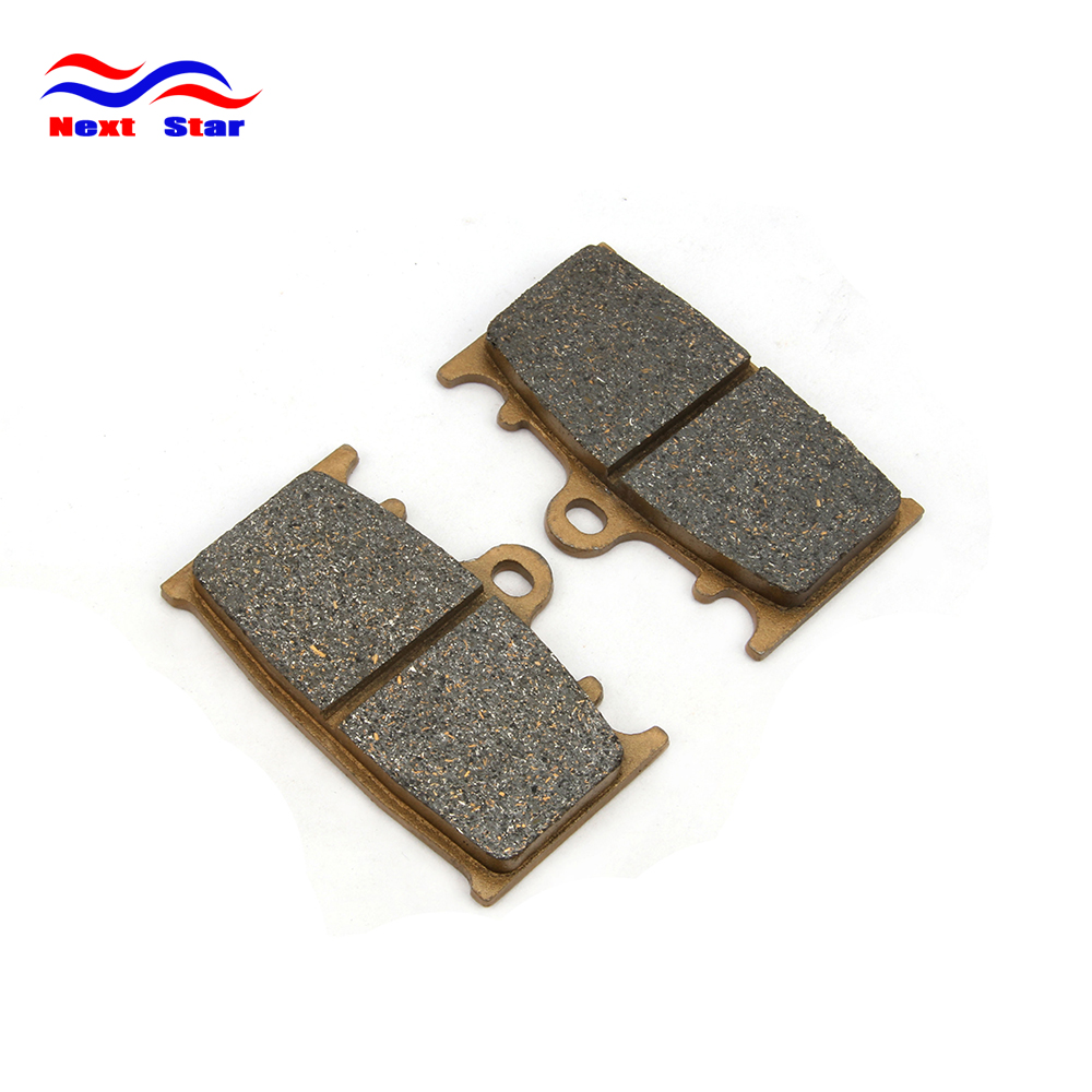 Front Carbon Brake Pads for Kawasaki ZX 600 1100 VN 1700 2000 GSF 1250