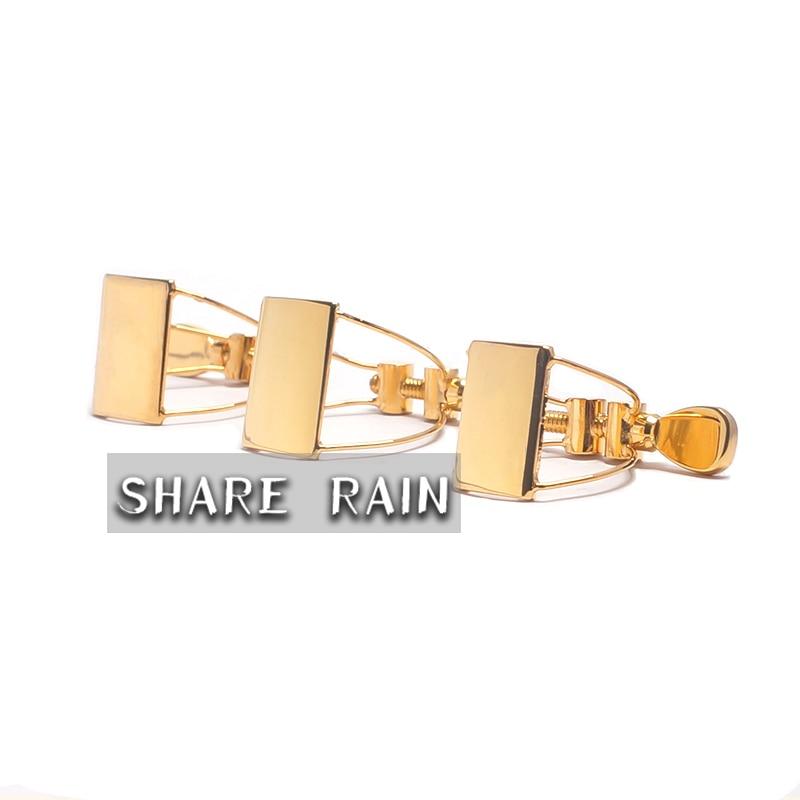 Soprano Alto Tenor Sax Clarinet Hard Rubber Mouthpiece Appropriative Steel Wire Metal Ligature Butterfly