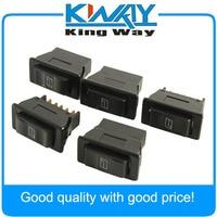 5 Pcs Universal Auto Car Power Window Switch 5 Pin DC 12V 20A ON OFF SPST