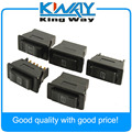 5 Pcs Universal Auto Car Power Window Switch 5-pin DC 12V 20A ON/OFF SPST Rocker