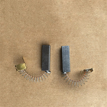 2pcs Vacuum Cleaner Motor carbon brushes for Philips Midea Haier LG Sanyo Replacement brush Accessories