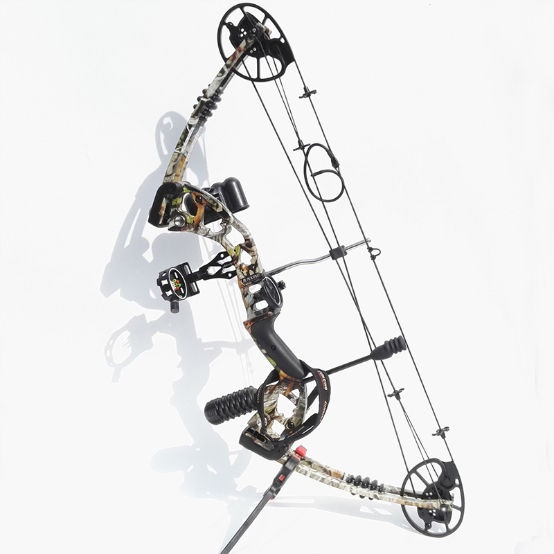 30-70lbs Archery Compound Bow Hunting Right Hand Compound Bow Set Stabilizer Bow Sight Bow Accessories dmar recurve bow archery stabilizer balance rod v bar damping rod shock absorber bow hunting accessories