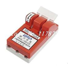AC 380V 100Amp Red Shell 4.5mm Mount Hole Opening Load Knife Disconnect Switch