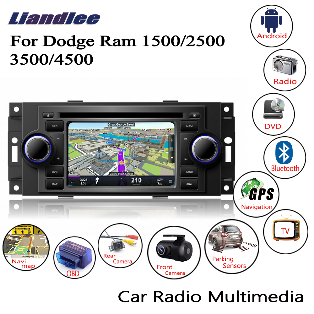 Liandlee For Dodge Ram 1500 2500 3500 4500 2006 2009 Android Car Radio CD DVD Player
