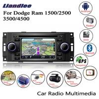 Liandlee For Dodge Ram 1500/2500/3500/4500 2006~2009 Android Car Radio CD DVD Player GPS Navi Navigation Maps Camera OBD TV