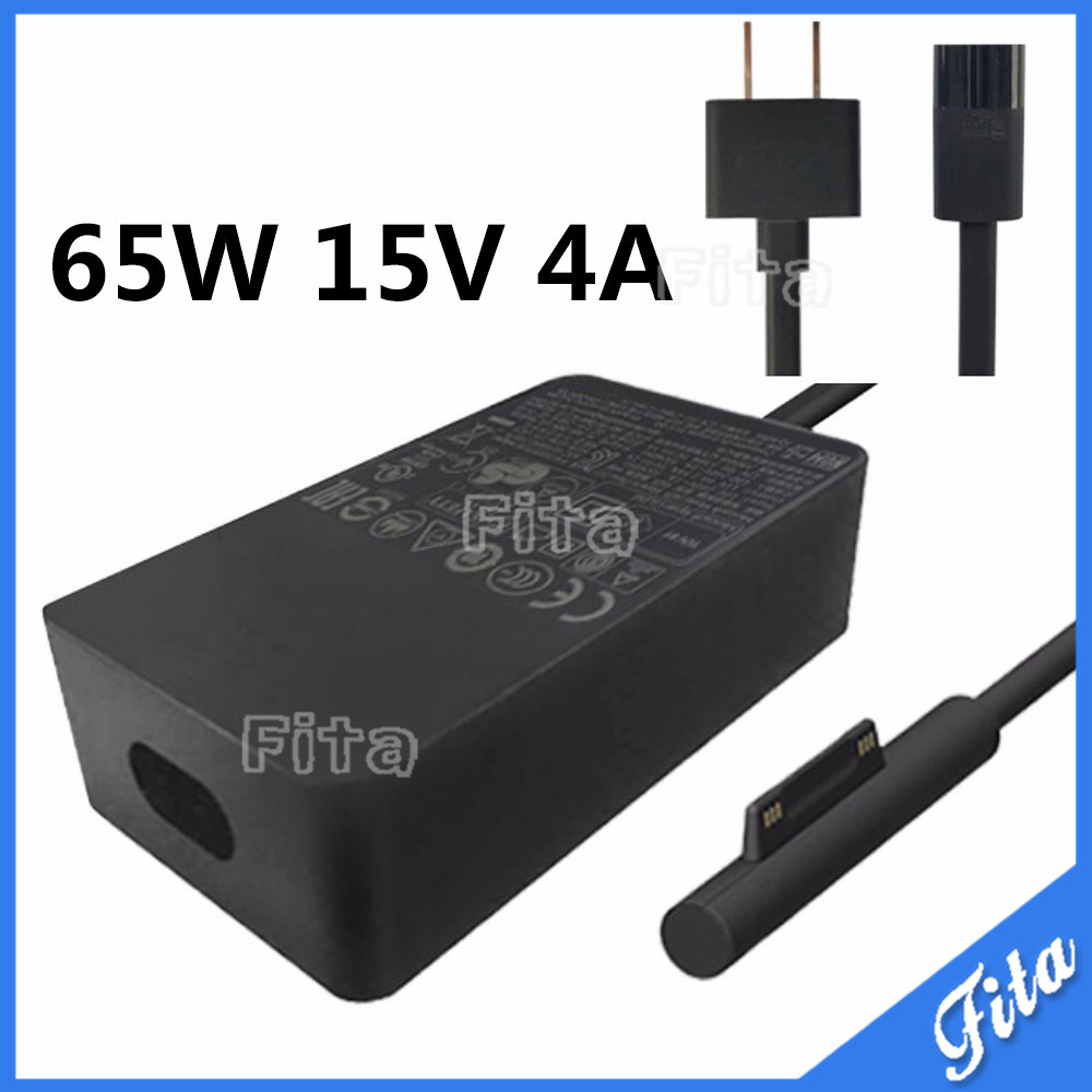 65W 15V for Microsoft Surface Pro 4 Surface Book Replacement Adapter Power Supply Charger with Power Cable with USB US Plug cewaal dc power supply adapter charger charging cable wire for microsoft surface pro 3 tablet charger cable