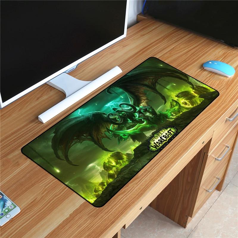60x30cm de borracha wow gaming mousepad mundo de warcraft moda mouse pad para notebook portátil esteira velocidade otaku melhor presente