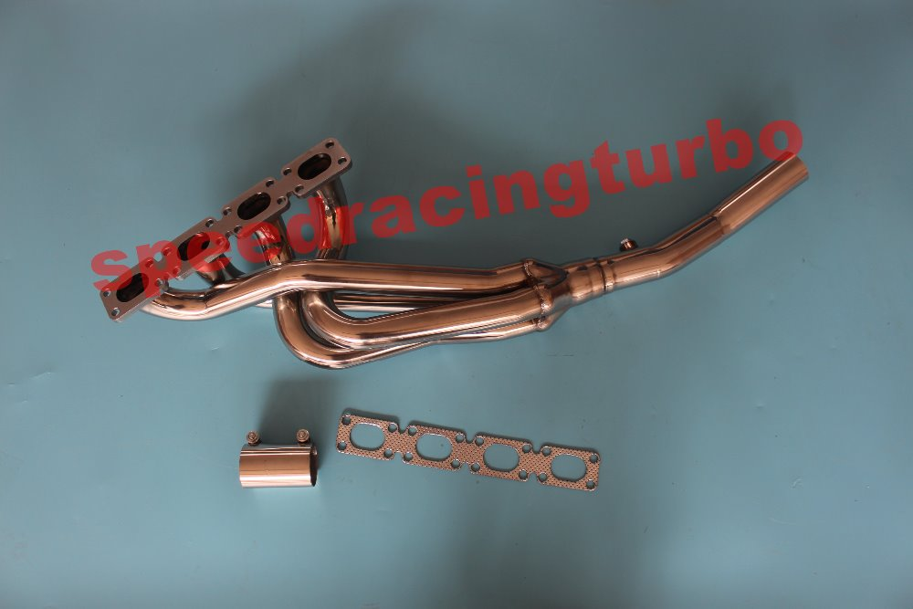STAINLESS STEEL 4-1 HEADER FOR 89-96 BMW E30//E36 318 Z3 4CYL EXHAUST//MANIFOLD