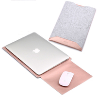 Wool Felt For Microsoft Surface Pro 3 4 Laptop Sleeve Bag Painted Leather Case Cover For
