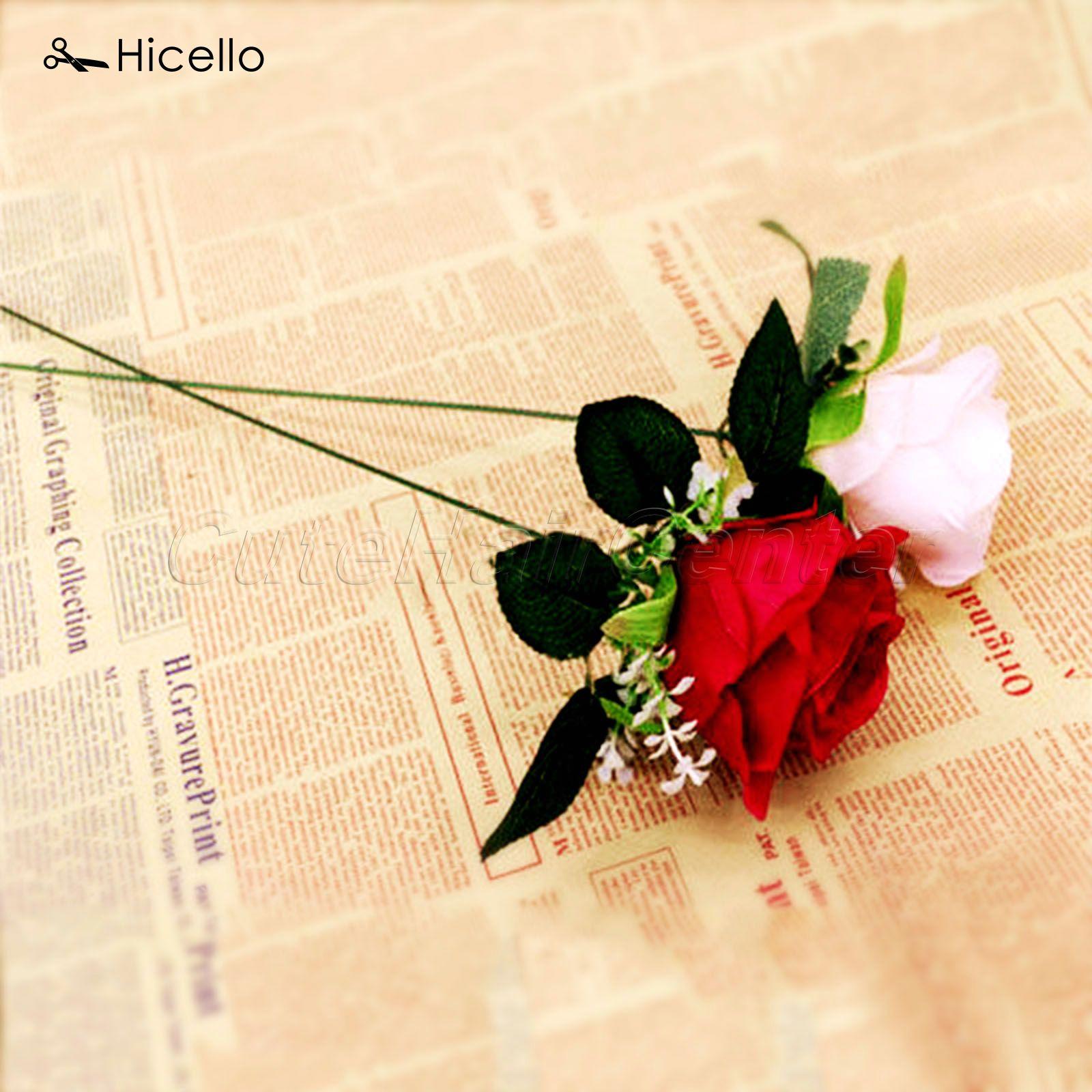 10 Pcs lot Flower Stub Hicello Batang Kertas plastik Hijau Floral Pita Besi Kawat  Bunga Buatan Batang Stub Craft Dekorasi 60 cm di Buatan   Bunga Kering ... 1d990d5880