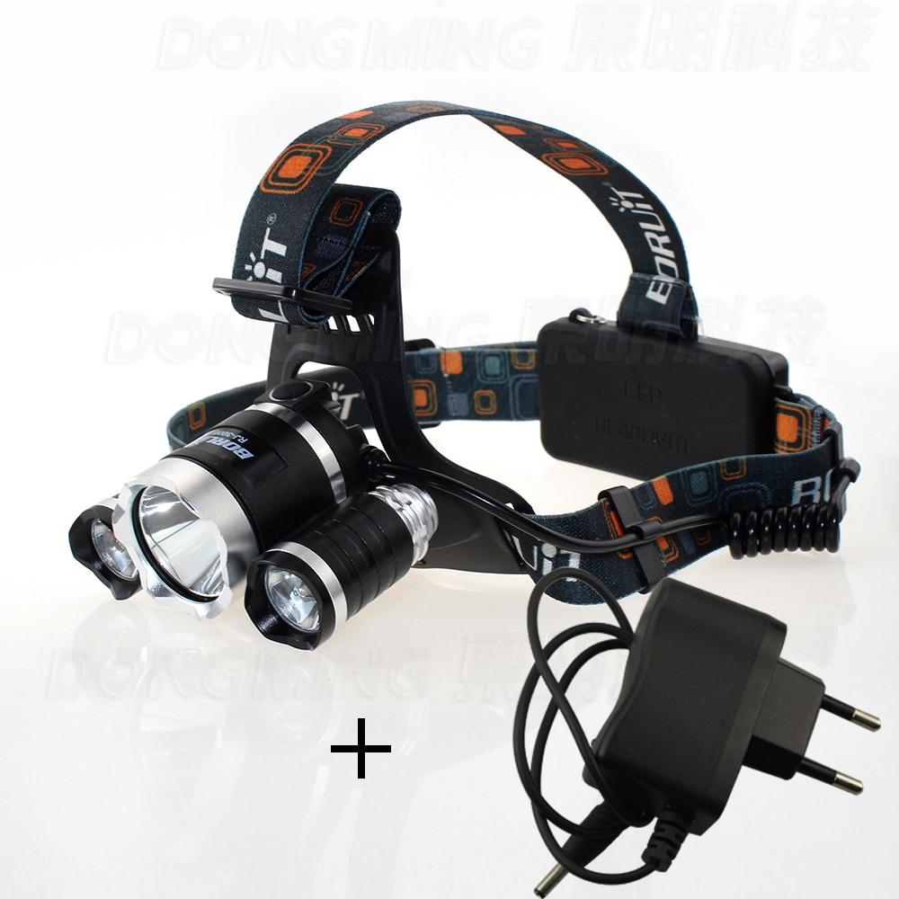 Super Bright LED koplamp 3 leds CREET6 Energiebesparende - Draagbare verlichting