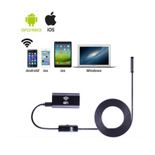 Wireless WIFI Endoscope Camera 720P Waterproof Detection Mini 8mm USB Industrial For Mobile Phone Android Ios
