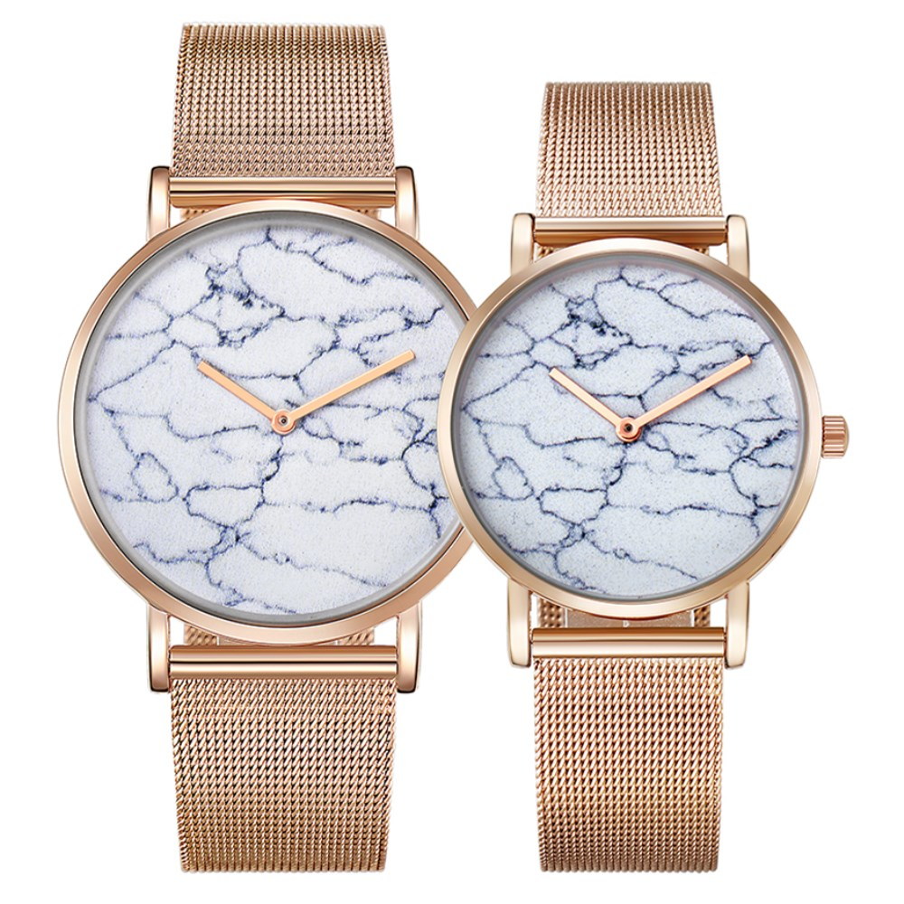 CAGARNY Lovers Wristwatch Unique Ultra Thin Dial Watch Women Gold Steel Men Watch Fashion Quartz Couples Watches Lover Gifts cagarny fashion watch women rose gold men s quartz watches men casual wristwatches for lovers unisex nylon strap reloje mujer