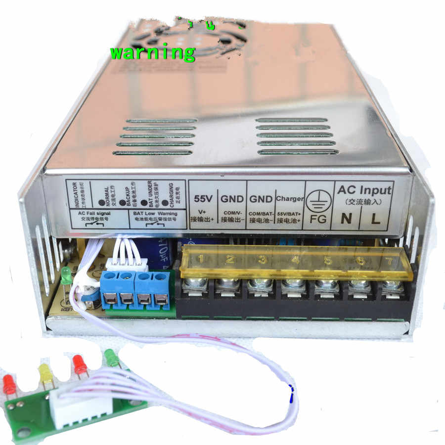350W UPS Charger Function Switching Power Supply 12v (13 8v) 24v (27v) 48v  Single Output LED Power Suppliers