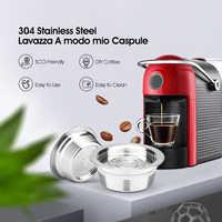 In Acciaio Inox Metallo Lavaza un modo mio Riutilizzabile Caffè Filtro a Capsula Per Lavazza A Modo Mio Jolie/Piccolo e LM3100 ESPRIA