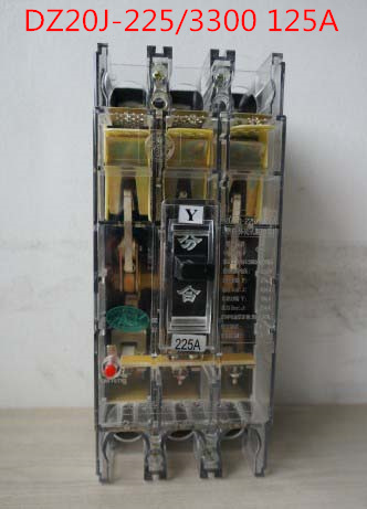 Molded case circuit breaker / air switch DZ20J-225/3300 125A 3P