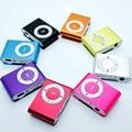 Спортивные 3,5 мм Модные MP3 Музыкальные плееры металлический зажим mp3 портативный мини Mp3 Поддержка до 32 ГБ Micro SD карты для детей подарок для де...