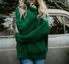 Laipelar Casual Loose Turtleneck Sweater Women Knitwear Sweater 6 Color Long Sleeve Women Sweater Autumn Pullover brand casual turtleneck sweater men pullovers autumn knitwear