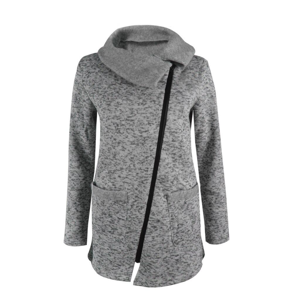 OHRYIYIE Plus Size 5XL Gray Cardigan Women 2017 Spring Autumn ...