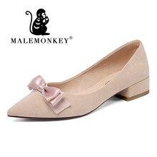 цена на Autumn High Heels Women Pumps Platform Suede Shoes Women Thick Heeled Ladies Shoes Comfortable Working Shoes