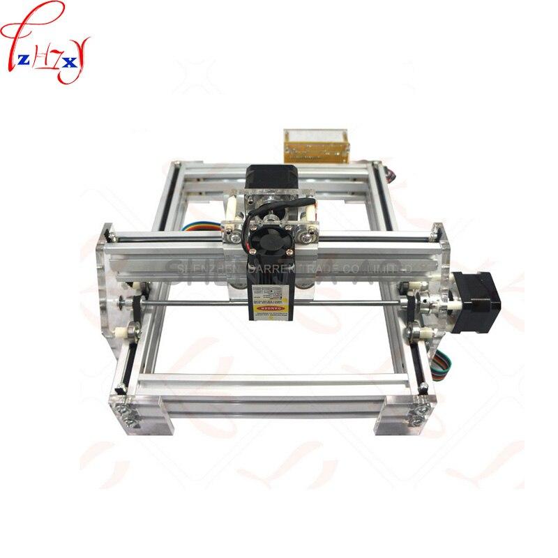 1pc 1.5W DIY mini laser engraving machine 1500mW Desktop DIY Laser Engraver Engraving Machine Picture CNC Printer DC12V - 2