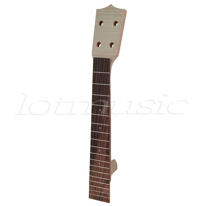 Neck and Fretboard Fingerboard for 26 Inch Tenor Ukulele Hawaii Guitar Parts Maple and Rosewood 18 Fret neck and fretboard fingerboard for 26 inch tenor ukulele hawaii guitar parts maple and rosewood 18 fret