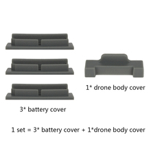 4-in-1 Kit Silicone Dust-proof Battery Cover Plug & Drone Body Charging Port Plug Cover Cap for DJI Mavic Air Accessories