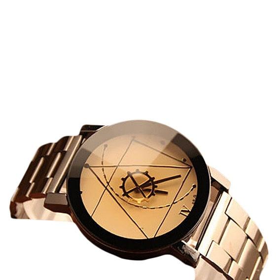 Top Brand luxury Roman Numeral Watches Male Fashion Watch Stainless Steel Man Quartz Analog Wrist Watch reisenthel сумка allrounder l spots navy ci a pdd0