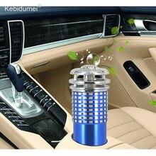 Kebidumei 12 в автомобильный очиститель воздуха мини Авто Свежий воздух анион Ионный очиститель кислородный бар Озон ионизатор очиститель освежитель для автомобиля