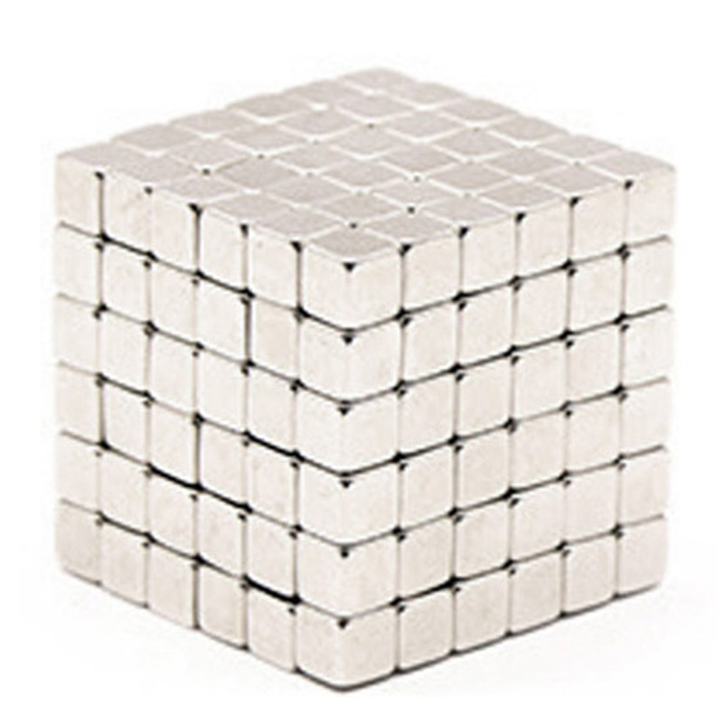 5Mm 216Pcs/Set With Metal Box New Metaballs Neodymium Magnetic Balls Neo Square Puzzle Magnet