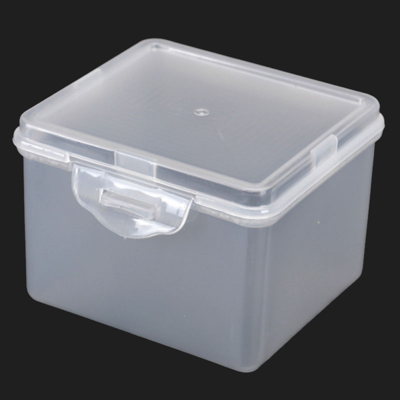 PP Plastic Storage Box Jewelry Organizer Gift Clear Case Parts Component Hardware Accessories Box